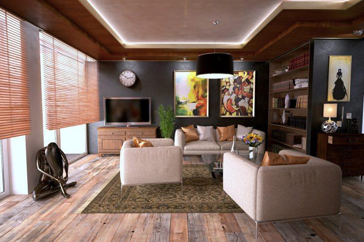 Interiör i lägenhet